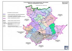 Схема планируемых границ, вариант 2
